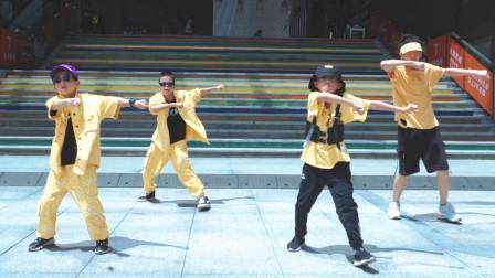 核力风街舞少年夏日舞蹈!