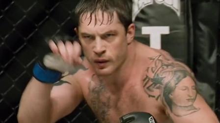 汤姆哈迪最经典的拳击电影,反派气质谁都压不住
