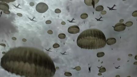 二战最强伞兵,空降诺曼底联系法国游击队,伏击德军坦克