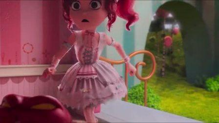 《不可思议的世界》蛋糕师把兔兔当成装饰品插在蛋糕上,猪猪侠快去救他