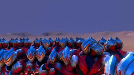 粉丝想看:100个超级赛亚人孙悟空VS200个巨型欧布奥特曼