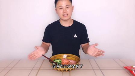 试吃东北特色美食,延吉冷面,酸甜可口!!