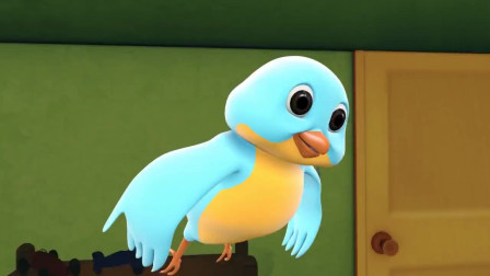 《跳跳鱼世界》太不容易了!小鸟终于能飞了,跳跳鱼松了口气!