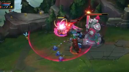 英雄联盟:大司马给队友增加游戏难度,强杀满血剑姬真的弱智