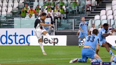 【集锦】意甲第34轮尤文图斯2—1拉齐奥,C罗梅开二度,迪巴拉献助攻,因莫比莱点射