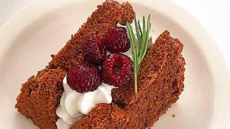 绵软Q弹,巧克力奶油小蛋糕