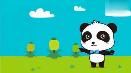 孩子爱看动画宝宝巴士:壮壮准备了菠萝派,邀请奇奇小画家来品尝!