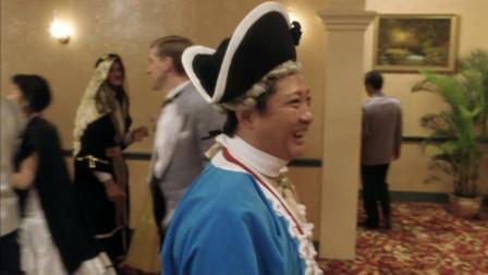 金爷是上海滩大亨,外国人捧着他,夸奖他像拿破仑!