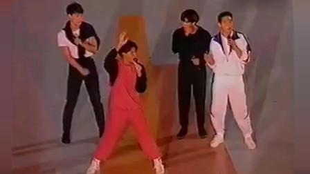 1992年四大天王同台演出,惊艳全场,简直太好看了!