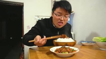 大sao做的辣椒炒牛肉,配米饭一起吃真的过瘾