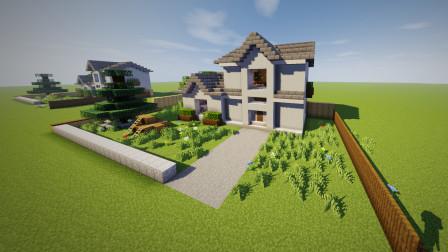 乡村田园小屋,私人豪宅~我的世界建筑教程