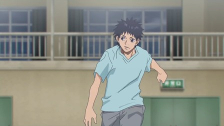 篮球少年王 车谷急于精进急停跳投技术,找太郎求教却被无情拒绝