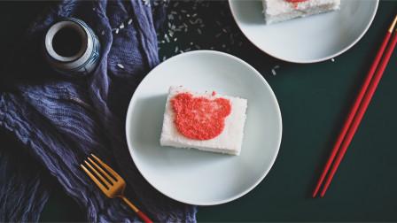 超详细步骤教你制作松软香甜无蛋无奶纯米蛋糕-韩国米糕