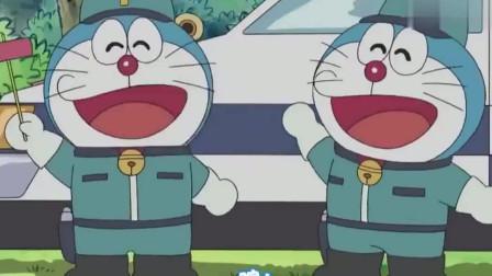 哆啦A梦:哆啦A梦没钱吃铜锣钱,去做兼职赚钱,过得好惨啊!
