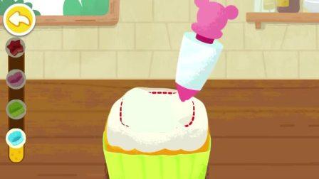 在面包上涂上奶油,变成了什么口味的呢?宝宝巴士游戏