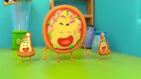 宝宝巴士-坏蛋披萨跟汉堡、薯条和可乐抢地盘