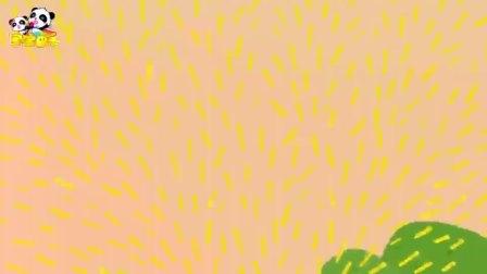 《宝宝巴士神奇简笔画》土豆 拿个土豆放机器里就飞出很多薯条