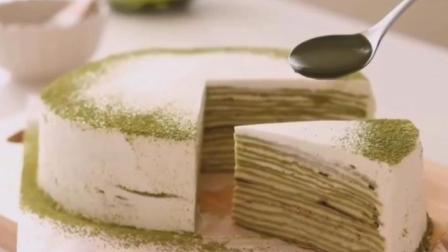 抹茶千层蛋糕的做法!