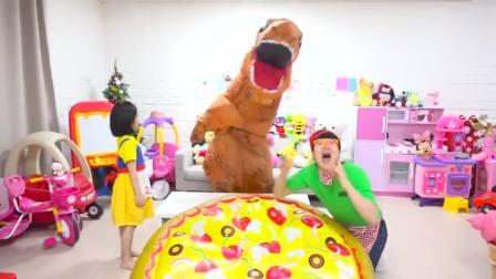 美国萌宝时尚!萌宝和可爱的哥哥的卖披萨比赛!太可爱了吧
