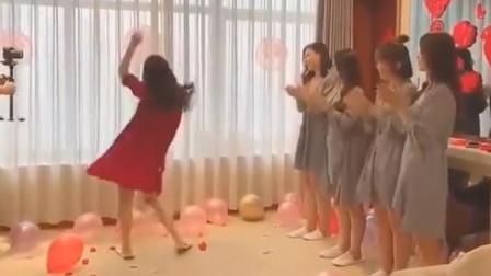 爆笑:新娘一跳舞我就认出来了,她不是酒吧领