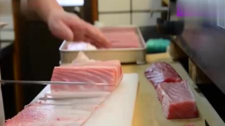 民间高手:日本厨师处理金枪鱼,难怪加工成本都这么贵!
