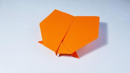 教你折纸掠行者纸飞机,能飞很久的纸飞机,儿童很喜欢