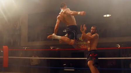 终极斗士3:博伊卡王者归来,拳拳到肉,这腿法就是艺术般的存在