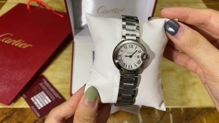 卡地亚 蓝气球系列 女士腕表/手表/  经典款 简约大气上档次 情侣款