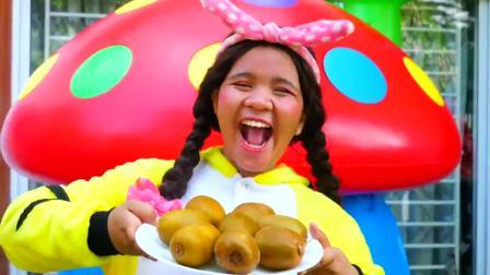 国外儿童时尚,带回家制作冰淇淋,做出六个彩色冰淇淋