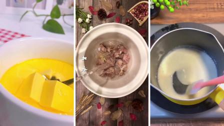 第十五期食谱记录之枸杞菊花排骨汤 鸡蛋羹 黄桃燕麦布丁