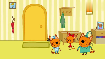 咪好一家:原来马芬伯伯是一位演员,是专门教育小猫们的