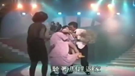 郑少秋沈殿霞同台演唱歌曲,画面好甜蜜,可惜再也看不到了!