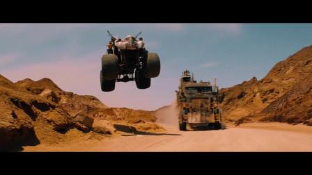 疯狂的麦克斯:异常火爆的飞车追逐场面