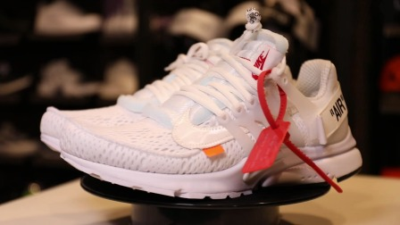 ow x presto联名,是最帅的联名跑鞋吗,?