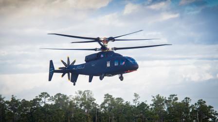 详解美军SB-1挑战者直升机,共轴双旋翼设计,极速超过460km/h
