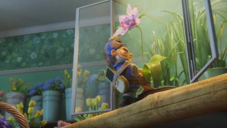 淘气大侦探:罗迪欧为了泡妞,跑去花店摘花,结果摘不下来