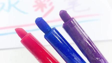用棉签自制水彩笔的方法,简单好玩