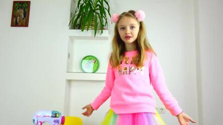 国外儿童时尚,小女孩喜欢裙子,亲自动手做