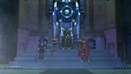 超兽武装:冥王发动终极大招,欲在黑洞中湮灭一切敌人!