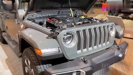 2020款Jeep牧马人撒哈拉运动版4X4到货, 看到实车才知道啥叫霸气