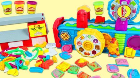 彩泥玩具机制作各种图形玩具