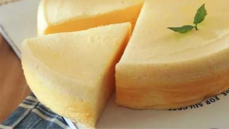 大厨教你做酸奶蛋糕,详细比例配方,不用烤箱就能做,好吃不上火