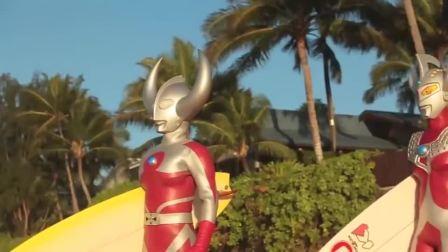 奥特曼:奥特曼推广夏威夷旅游