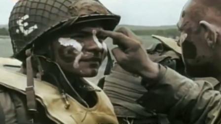真实的二战纪录片,3万美军士兵空降法兰西,却打扮成印第安战士