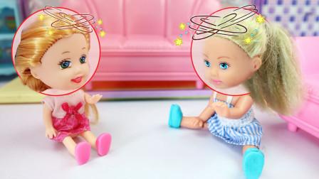 """芭比故事姐姐妹妹不小心""""灵魂互换"""",姐姐终于不再欺负妹妹了"""