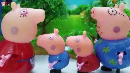 《小猪佩奇》小故事,小花狗真调皮,小猪佩奇要教训它!