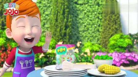 超级宝贝:姐姐的酸奶搭配培根,这个味道真怪,一点都不好吃