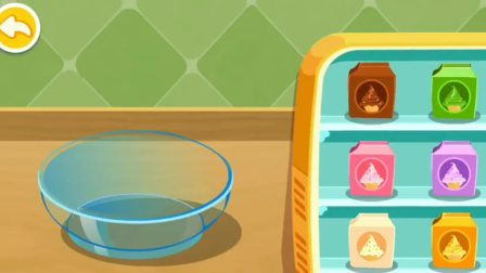 宝宝甜品店 给兔依依制作巧克力冰淇淋 宝宝巴士亲子益智