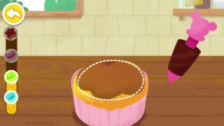 蛋糕做好了,看着可美味了!宝宝巴士游戏
