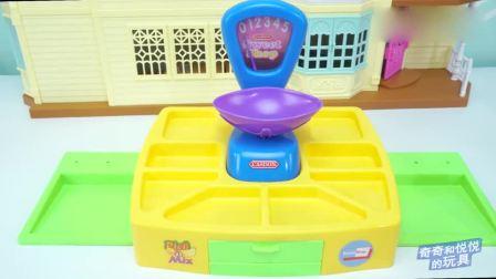 奇奇和悦悦的玩具:汪汪队12种口味的棒棒糖泡泡糖超市(1)